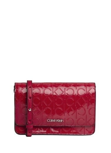 Calvin Klein Clutch / El Çantası Kırmızı